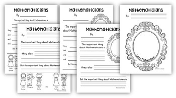 The Important Thing About Mathematicians by Math Coach's