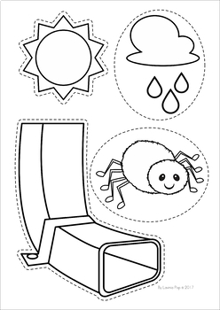 Incy Wincy Spider Coloring Pages Coloring Pages