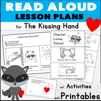 The Kissing Hand Read Aloud Lesson Plans w/ Sequencing