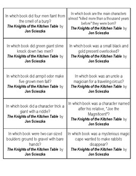 Knights of the kitchen table quiz microfinanceindia the knight of kitchen table quiz cards by books and dirt tpt watchthetrailerfo