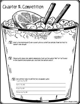 Novel Study: The Lemonade War PDF Version by Smitty's