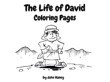 The Life of David Coloring Pages by Out of This World
