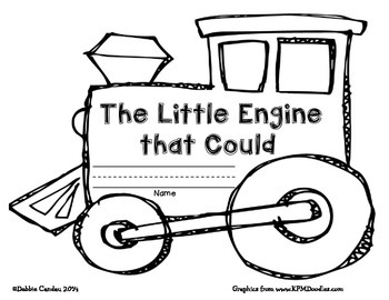 The Little Engine That Could: Summary Template by Sailing