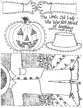 The Little Old Lady Who Was Not Afraid of Anything:book