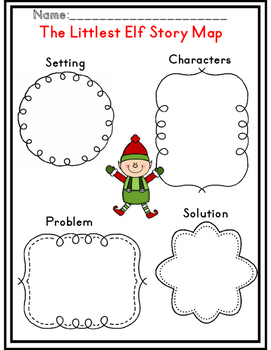 The Littlest Elf Common Core Unit by The First Grade Flair