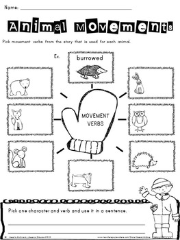 Mitten: Literacy Activities for The Mitten by Jan Brett by