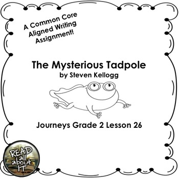 The Mysterious Tadpole-Journeys Grade 2-Lesson 26 by Read