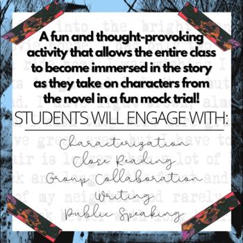 The Outsiders Novel Study Activity: