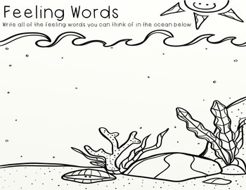 The Pout Pout Fish Goes to School Writing Activity by