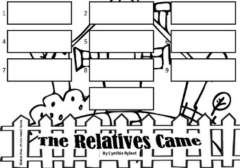 The Relatives Came Story Sequencing Activities {Picture