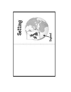 The Secret Garden Lapbook. Interactive Notebok. Writing