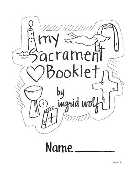 Catholic Sacrament Baptism Coloring Page Sketch Coloring Page