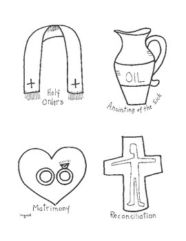 Sacrament Of Confirmation Symbols Catholic Symbols Wiring