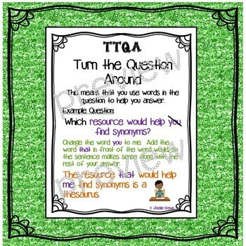 The TTQA Strategy: Literacy Practice; Turn the Question