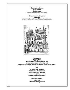 The Tale of Despereaux Novel Study Guide by Margaret