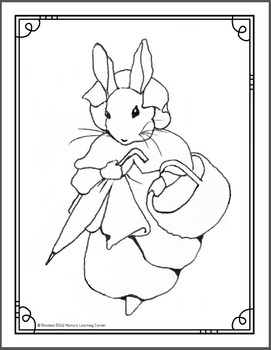The Tale of Peter Rabbit Printable Activities by Mama's