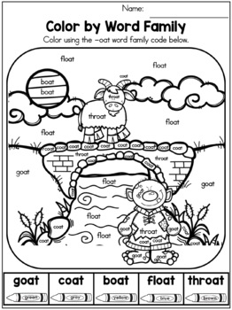 The Three Billy Goats Gruff Fairy Tale Activities (No Prep