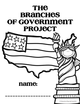 The Three Branches of Government Project by Enjoy Life