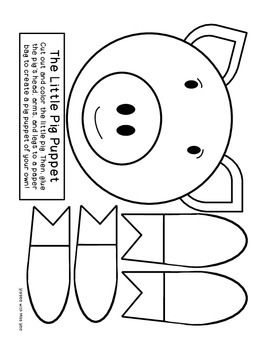 The Three Little Pigs: Literacy Activities by As Told By
