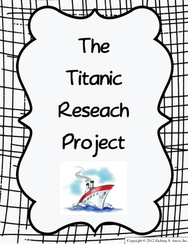 The Titanic Research & 3D Writing Project by Dynamic