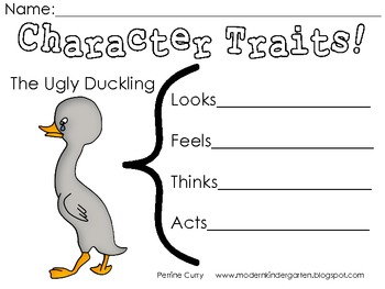 The Ugly Duckling Literature Focus Unit by Modern Primary
