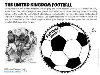 The United Kingdom Interactive Notebook Activities Student
