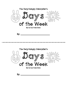 The Very Hungry Caterpillar Days of the Week Book by