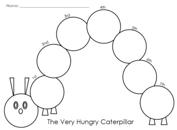 The Very Hungry Caterpillar Sequencing by Tiny Hands