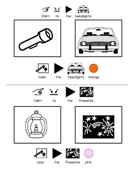 The Very Lonely Firefly Vocabulary and Color Printable