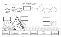 Water Cycle Worksheet Pdf Worksheets For School