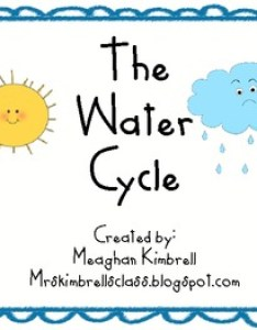 also the water cycle kindergarten chart and activity by meaghan kimbrell rh teacherspayteachers