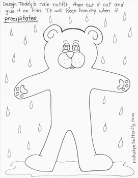 The Water Cycle Lesson Plan with Hand-Drawn Printables! by