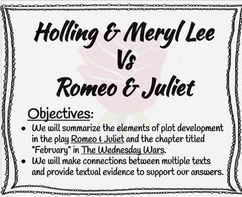 The Wednesday Wars: February Paired Text by Mc in the