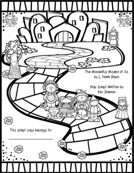 The Wizard of Oz Play Script (based on Baum's