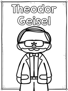 Theodor Geisel Flip Book PLUS Colored Poster & Student