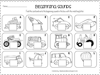 A Transportation Unit: Things that Go by Michelle Griffo