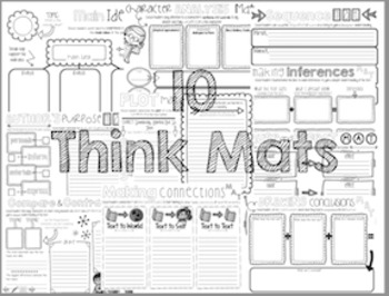 Think Mats: Graphic Organizers to use with ANY text! by