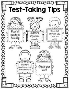 Classroom Guidance Lesson: Test-Taking Tips by Counselor