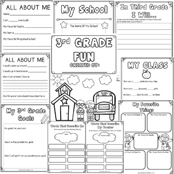 Back To School Activities 3rd Grade Fun by Educating