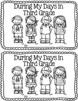 Third Grade Memory Book {During My Days in Third Grade} by