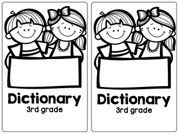 Third Grade Student Dictionary for Irregular Words {180