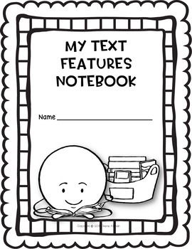 FREE Interactive Notebook: Text Features RI3.5 RI3.7 RI4.7