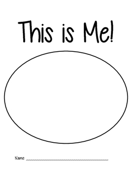 This is Me! (A Community Building Activity for Primary