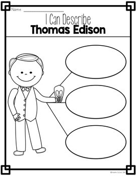 Thomas Edison Inventions, Facts and Timelines by Kristen