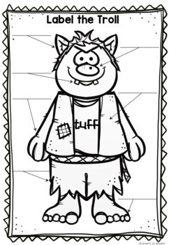 Three Billy Goats Gruff Word Wall, Masks, Sequencing and
