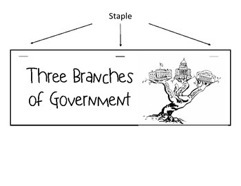 Three Branches of Government Foldable FREEBIE by Teacher's