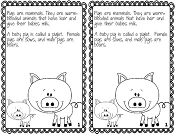 Three Little Pigs--Activities for you or your Sub! by