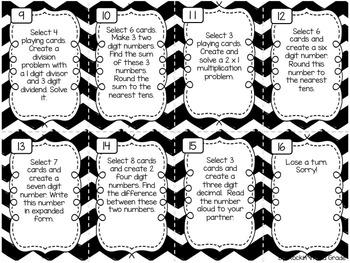 Tic Tac Toe- A 3rd/4th Grade Math CCSS/TEKS Review by