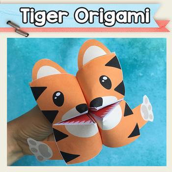 tiger cootie catcher fortune