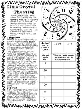 Inquiry Based Math Adventure with Elapsed Time, Place